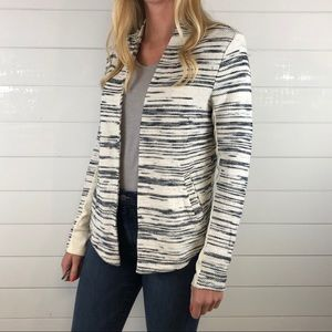 Lou & Grey Knit Open Front Cardigan Sweater Top